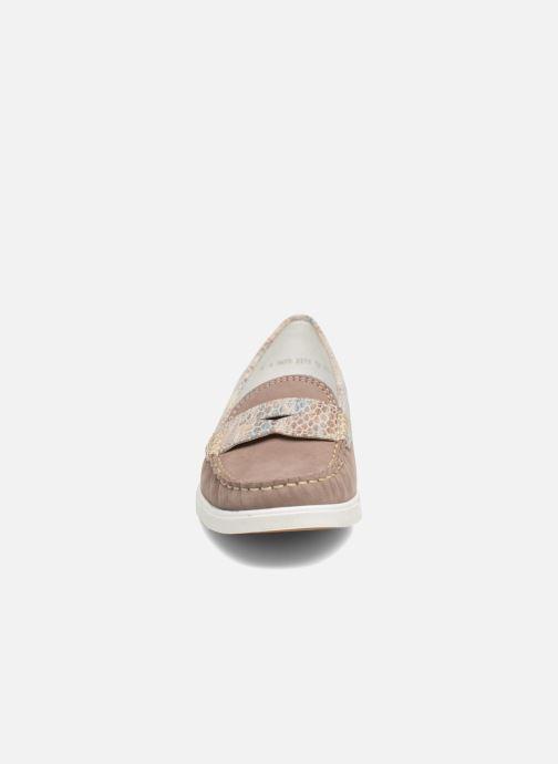 Mocassins Ara Monte 30813 Gris vue portées chaussures