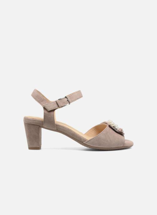 Sandales et nu-pieds Ara Massa 34675 Gris vue derrière