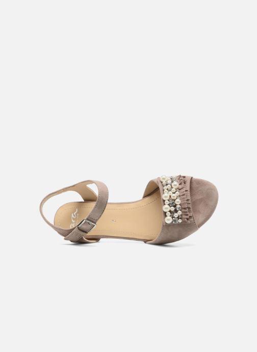 Sandales et nu-pieds Ara Massa 34675 Gris vue gauche