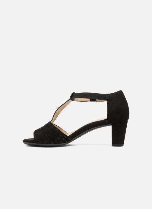 Sandales et nu-pieds Ara Massa 34677 Noir vue face