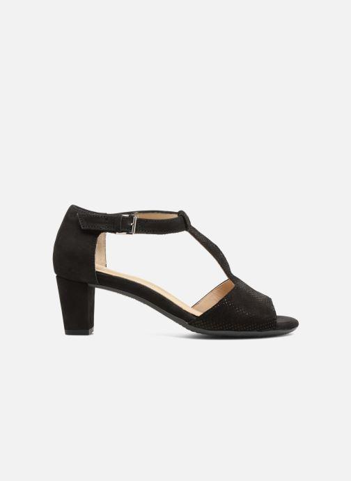 Sandales et nu-pieds Ara Massa 34677 Noir vue derrière