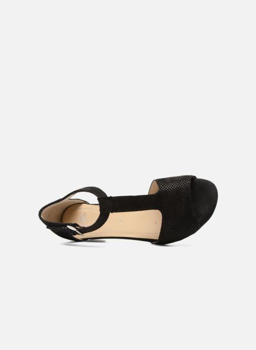 Sandales et nu-pieds Ara Massa 34677 Noir vue gauche