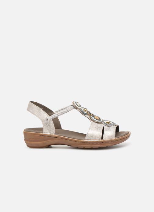 Sandales et nu-pieds Ara Hawai 37275 Gris vue derrière