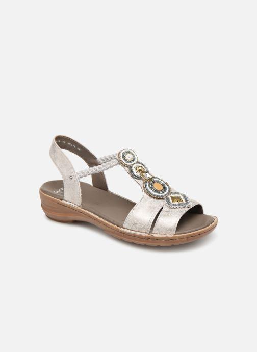 Sandales et nu-pieds Ara Hawai 37275 Gris vue détail/paire
