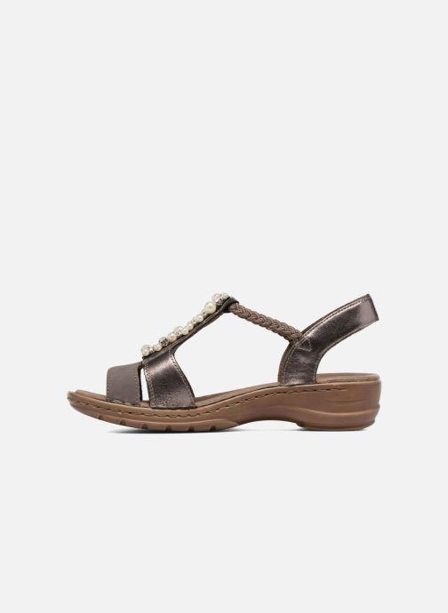 Sandales et nu-pieds Ara Hawai 27203 Marron vue face
