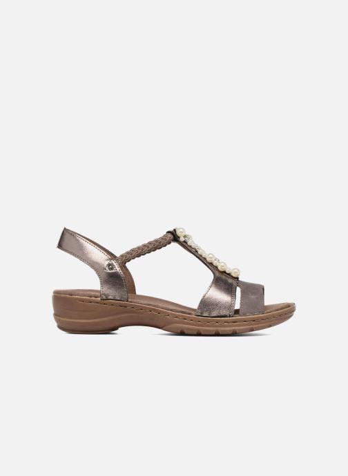 Sandales et nu-pieds Ara Hawai 27203 Marron vue derrière