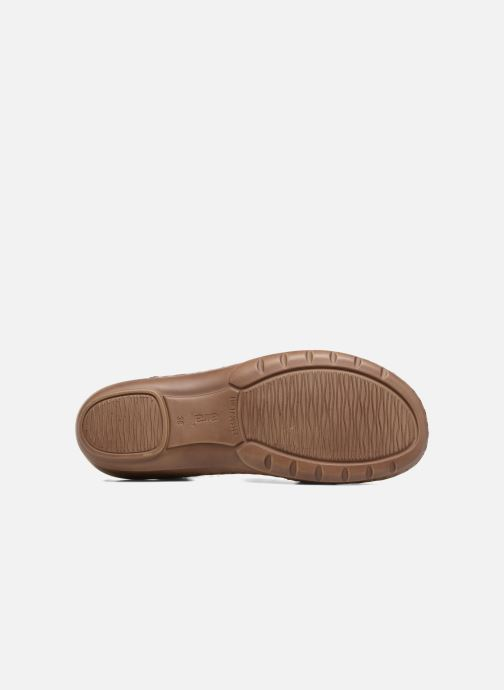 Sandales et nu-pieds Ara Hawai 27203 Marron vue haut