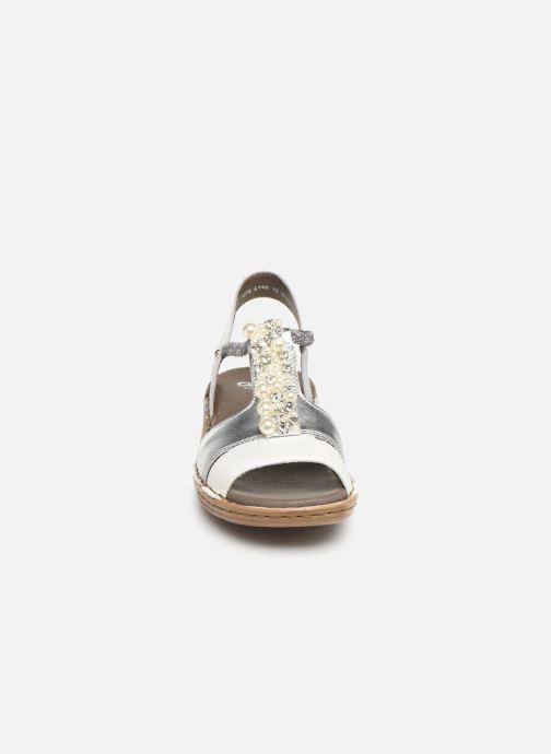 Sandales et nu-pieds Ara Hawai 27203 Argent vue portées chaussures