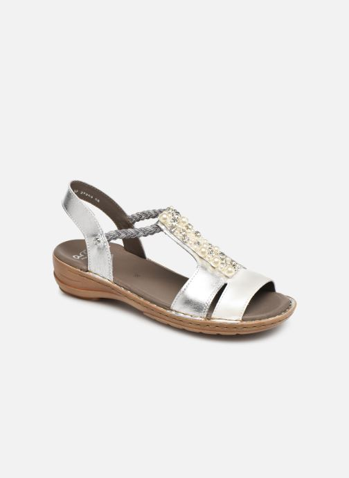 Sandales et nu-pieds Ara Hawai 27203 Argent vue détail/paire