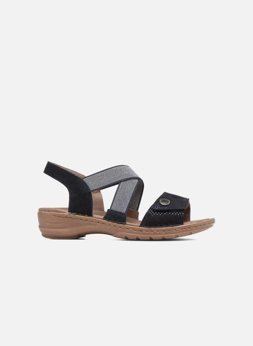 Sandales et nu-pieds Ara Hawai 27204 Bleu vue derrière