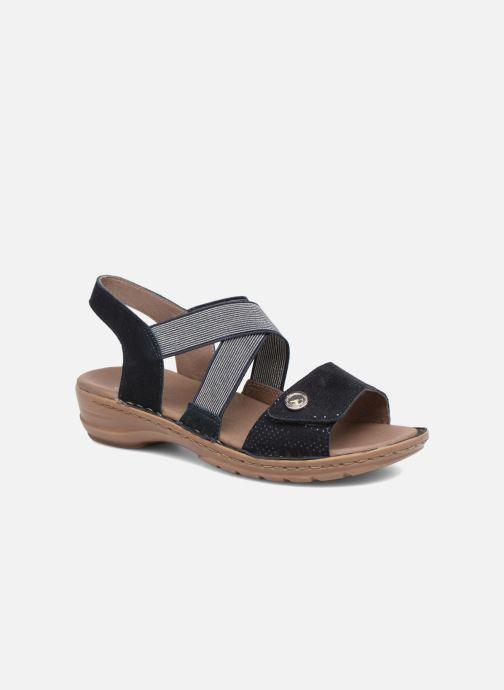 Sandales et nu-pieds Ara Hawai 27204 Bleu vue détail/paire