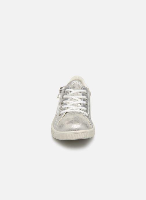 Baskets Primigi Alida Argent vue portées chaussures