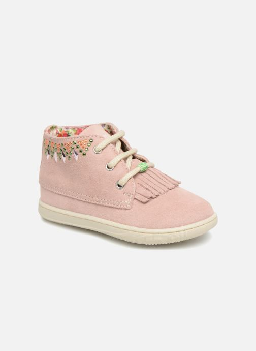 Ankle boots Primigi mangu Pink detailed view/ Pair view