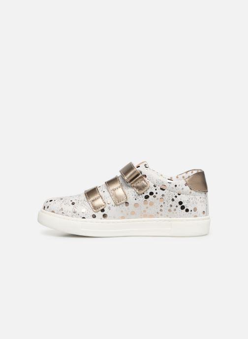 Sneaker Primigi Alda weiß ansicht von vorne