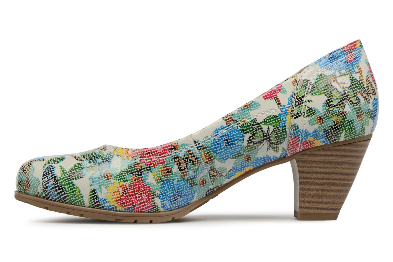 High heels Jana shoes Elba Multicolor front view