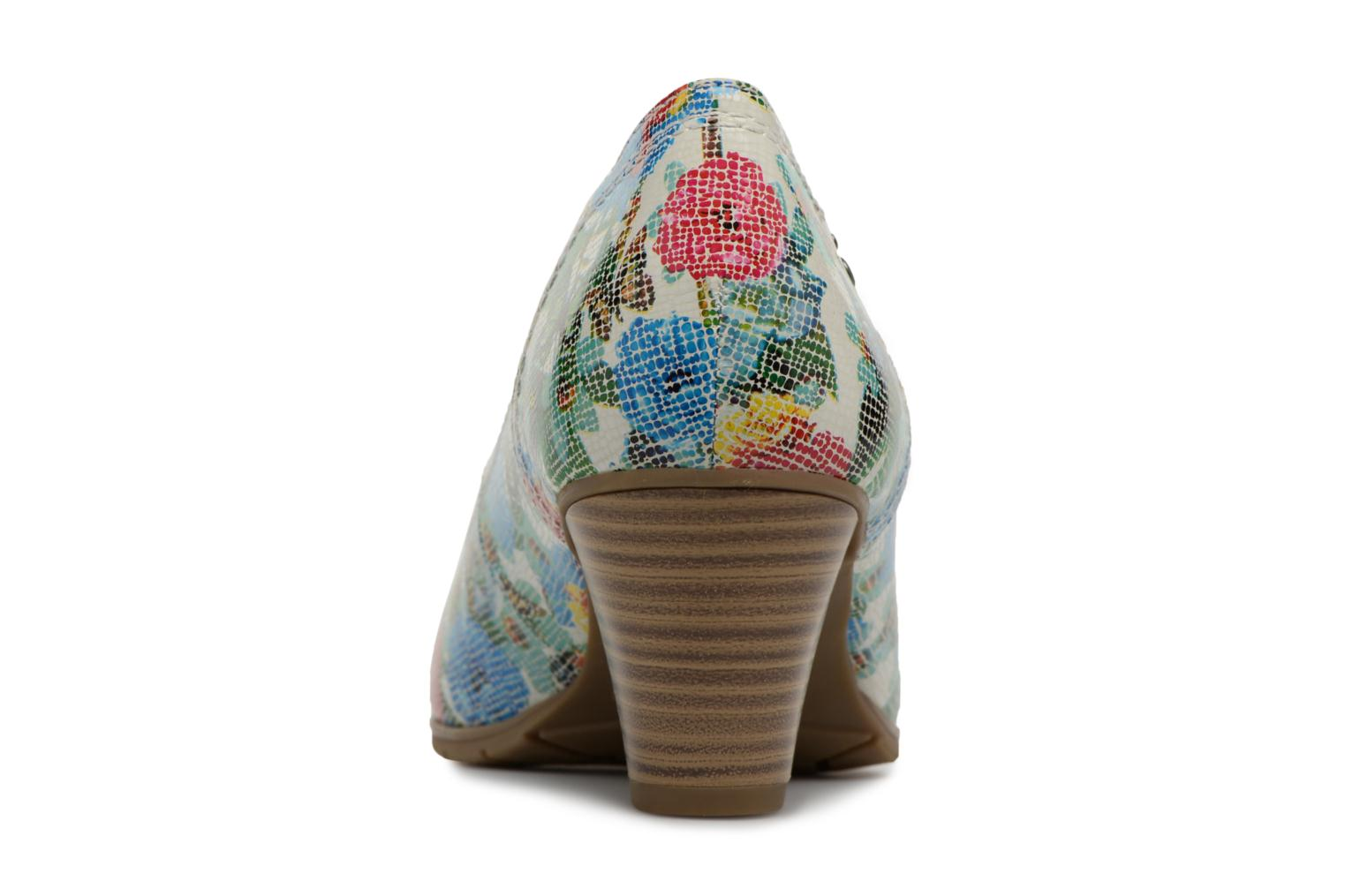 High heels Jana shoes Elba Multicolor view from the right