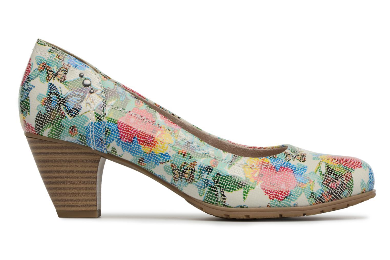 High heels Jana shoes Elba Multicolor back view