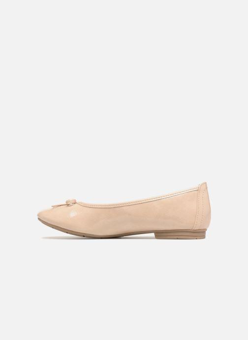 Ballerines Jana shoes Kasia Beige vue face