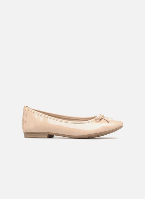 Ballerines Jana shoes Kasia Beige vue derrière