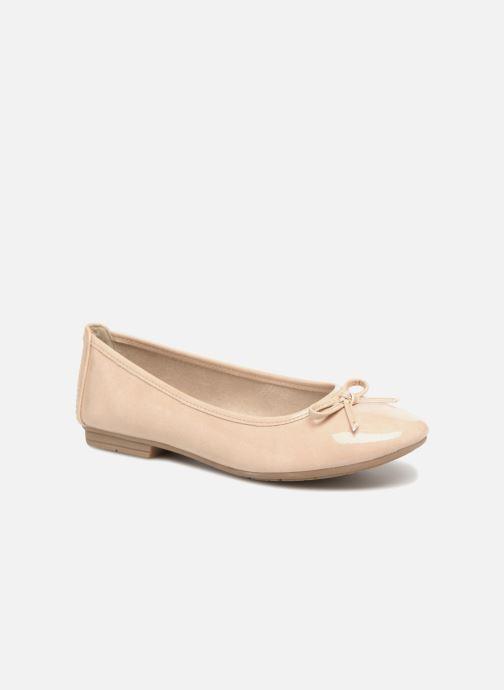 Ballerines Jana shoes Kasia Beige vue détail/paire
