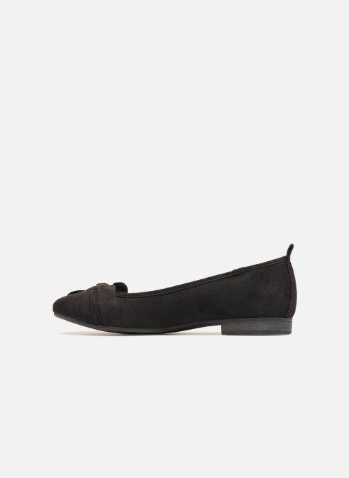 Ballerines Jana shoes Adalia Noir vue face
