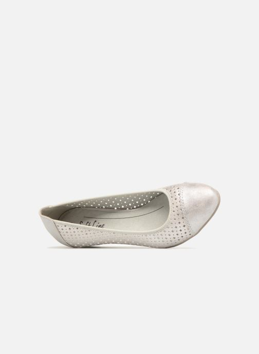 silver Dania Shoes White Jana Ballerines Ygy7bf6v