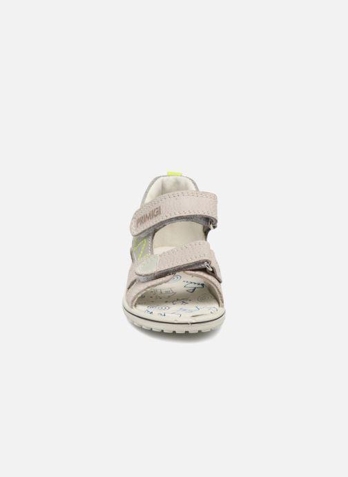 Sandales et nu-pieds Primigi Daniele Gris vue portées chaussures