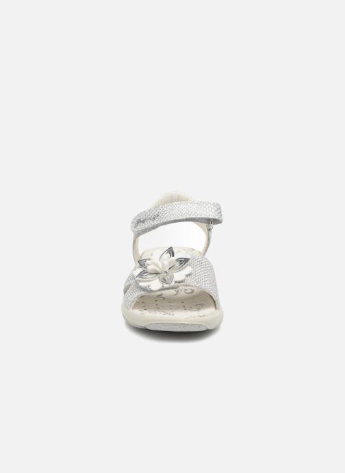 Sandales et nu-pieds Primigi Patrizia Argent vue portées chaussures