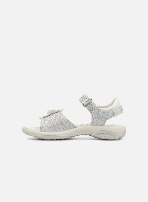 Sandales et nu-pieds Primigi Patrizia Argent vue face
