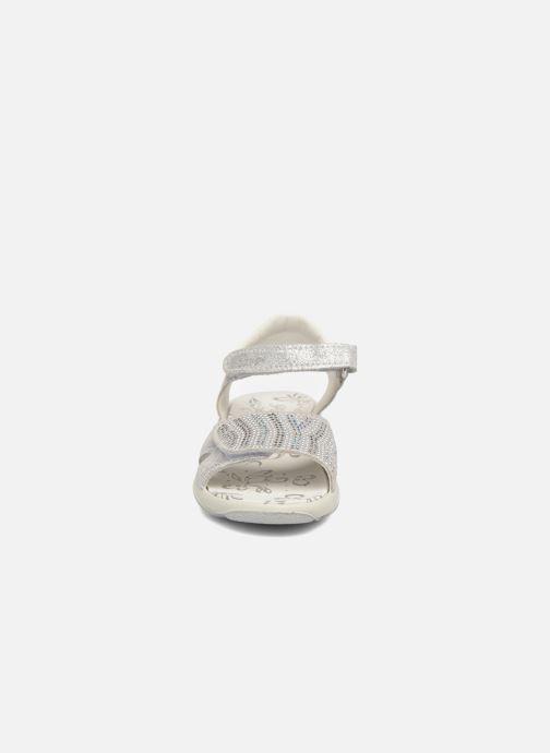 Sandales et nu-pieds Primigi Tara Argent vue portées chaussures