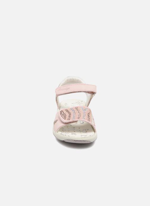 Sandales et nu-pieds Primigi Tara Rose vue portées chaussures