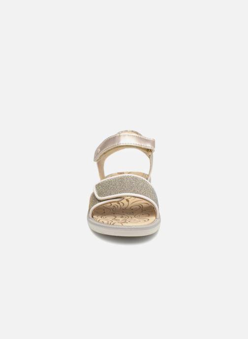 Sandales et nu-pieds Primigi donna Or et bronze vue portées chaussures