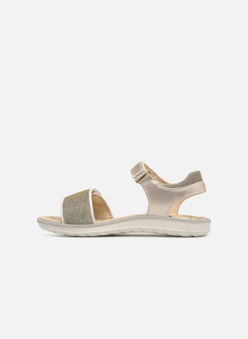 Sandals Primigi donna Bronze and Gold front view