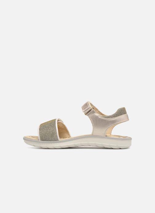 Sandales et nu-pieds Primigi donna Or et bronze vue face