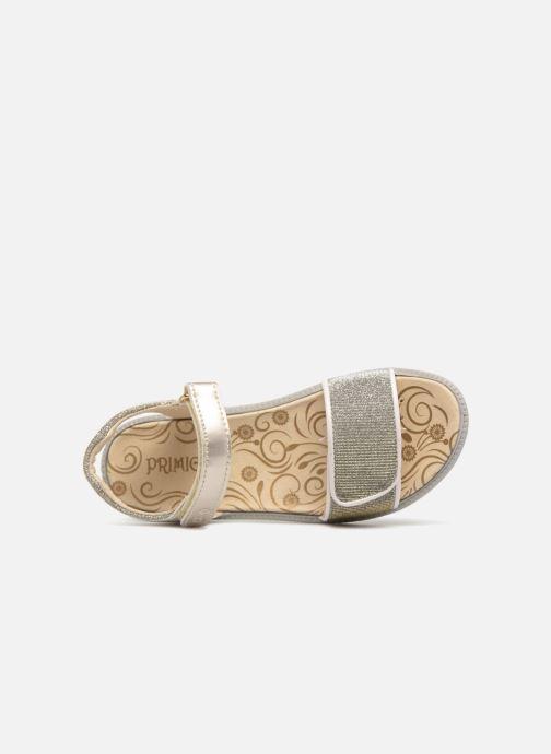 Sandales et nu-pieds Primigi donna Or et bronze vue gauche