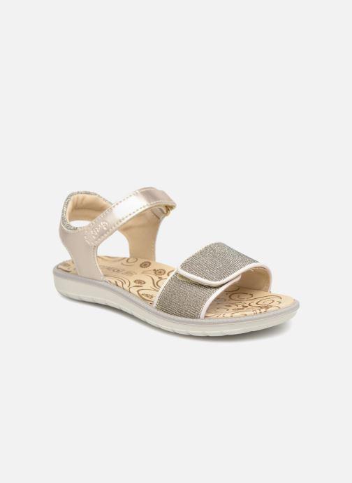 Sandales et nu-pieds Primigi donna Or et bronze vue détail/paire