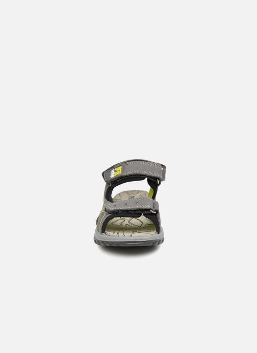 Sandales et nu-pieds Primigi Fabio Gris vue portées chaussures
