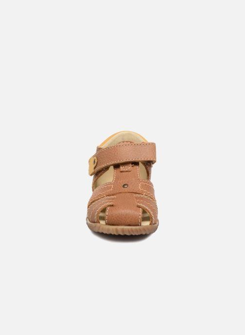 Sandales et nu-pieds Primigi Virgilio Marron vue portées chaussures
