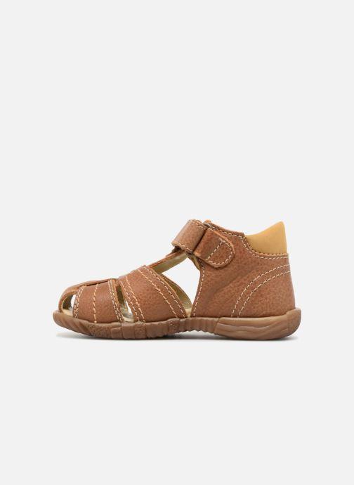 Sandales et nu-pieds Primigi Virgilio Marron vue face