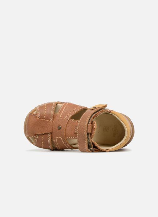 Sandales et nu-pieds Primigi Virgilio Marron vue gauche
