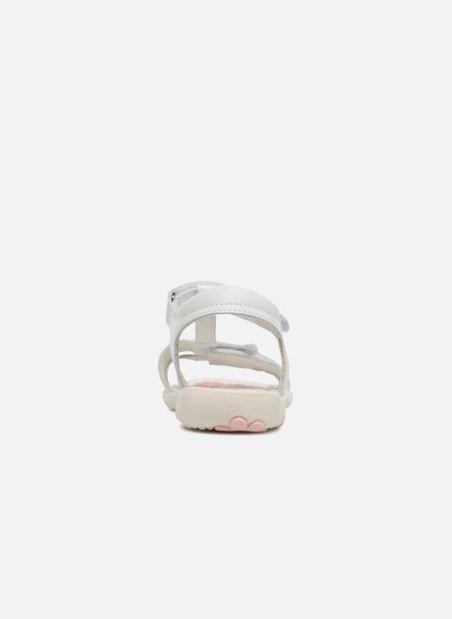 Sandales et nu-pieds Primigi Nuria Blanc vue droite