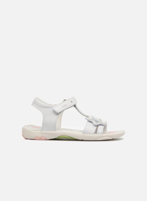 Sandales et nu-pieds Primigi Nuria Blanc vue derrière