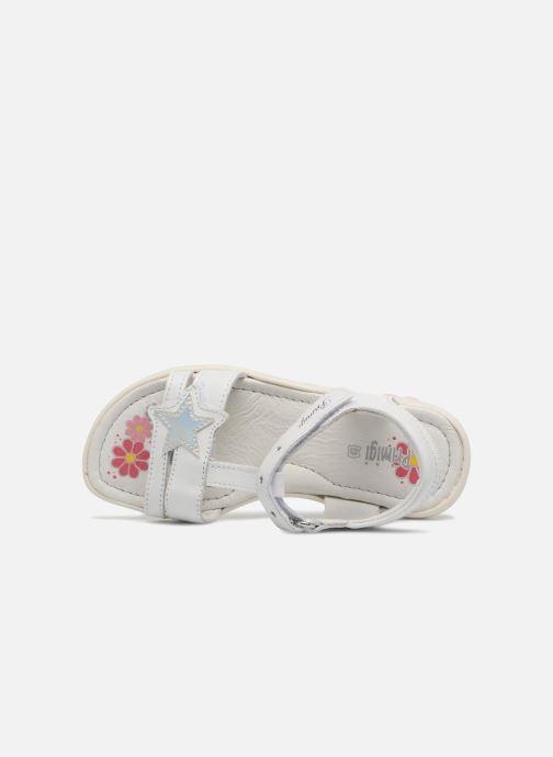 Sandales et nu-pieds Primigi Nuria Blanc vue gauche