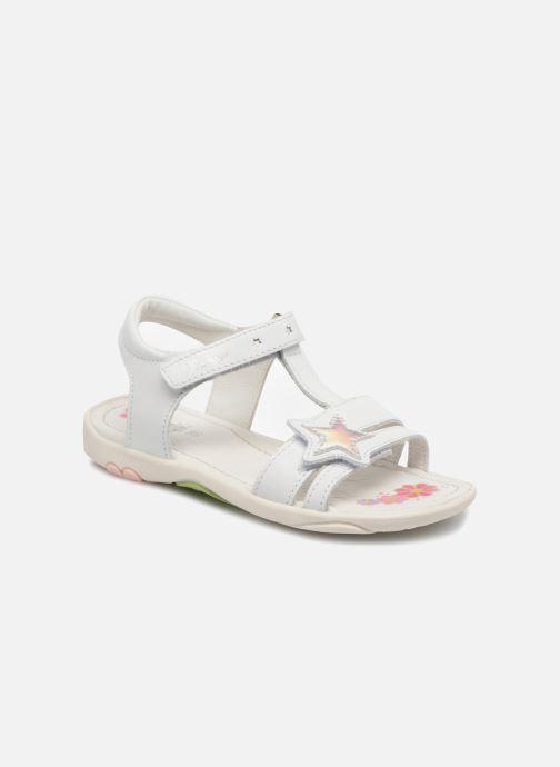 Sandales et nu-pieds Primigi Nuria Blanc vue détail/paire