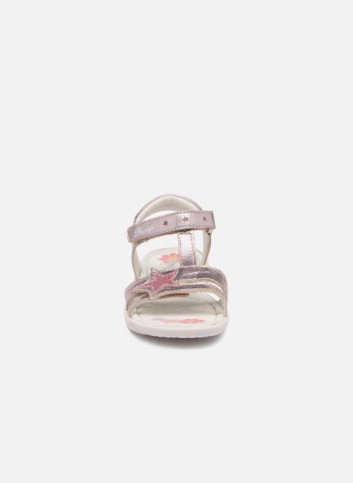 Sandales et nu-pieds Primigi Nuria Argent vue portées chaussures