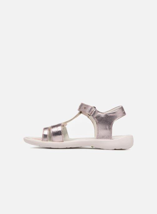 Sandales et nu-pieds Primigi Nuria Argent vue face