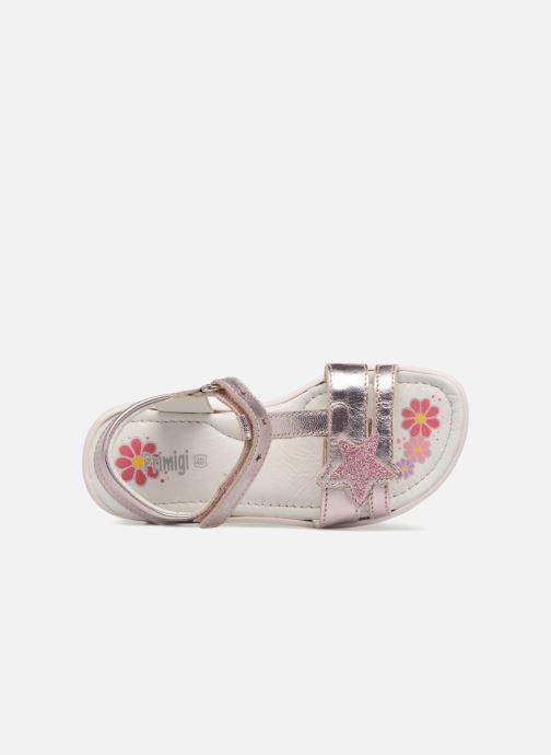 Sandales et nu-pieds Primigi Nuria Argent vue gauche