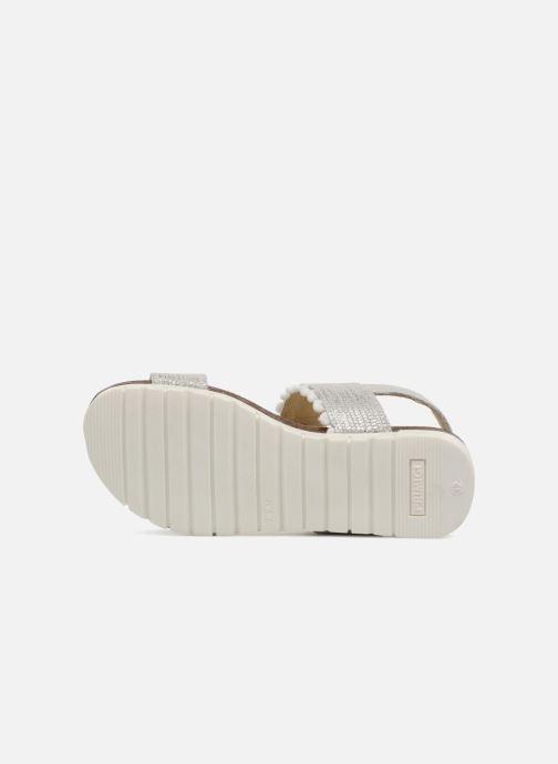 Sandales et nu-pieds Primigi Francy Argent vue haut