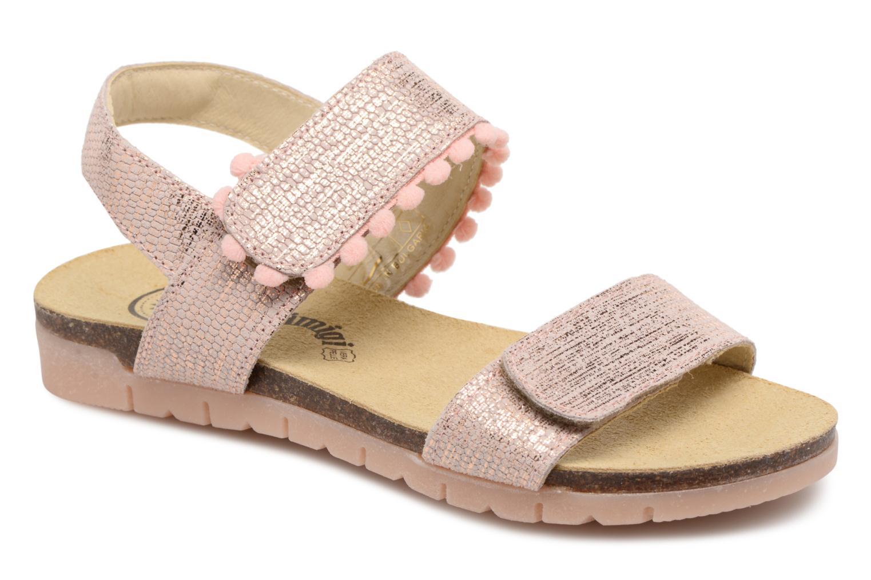 Sandals Primigi Francy Pink detailed view/ Pair view