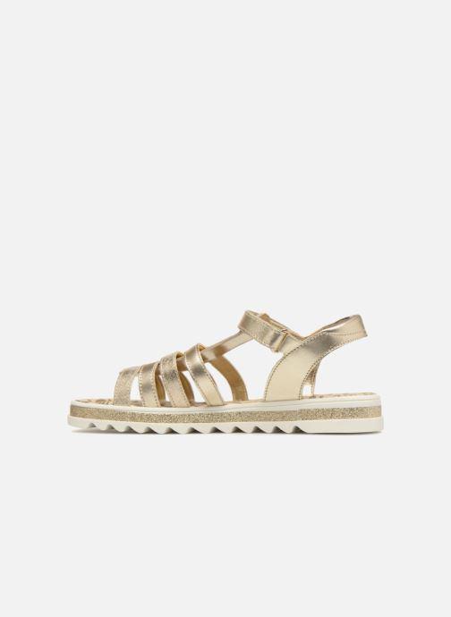 Sandales et nu-pieds Primigi Elda Or et bronze vue face